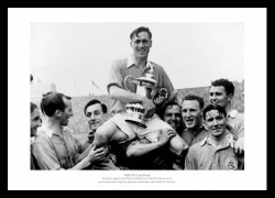 Arsenal FC 1950 FA Cup Final Joe Mercer & Team Photo Memorabilia
