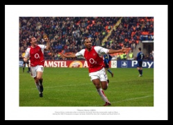 Thierry Henry Memorabilia - Arsenal FC Legends Photo