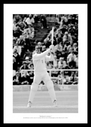Ian Botham 1981 Headingley '149 Not Out' England Ashes Photo