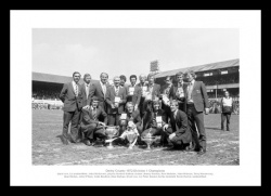 Derby County 1972 League Champions Team Print Memorabilia