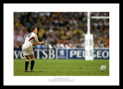 Jonny Wilkinson Print - 2003 Rugby World Cup Final Memorabilia