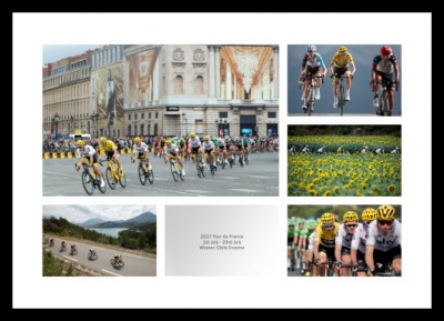 Chris Froome & Team Sky 2017 Tour de France Photo Memorabilia
