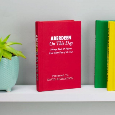 Personalised Aberdeen 'On This Day' Book