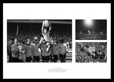 Arsenal 1971 Double  - League & FA Cup Winners Photo Montage