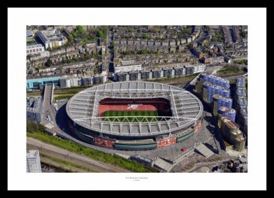 Arsenal FC Emirates Stadium Aerial Photo