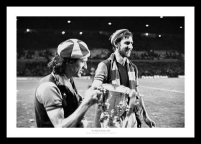 Aston Villa 1977 League Cup Final Photo Memorabilia