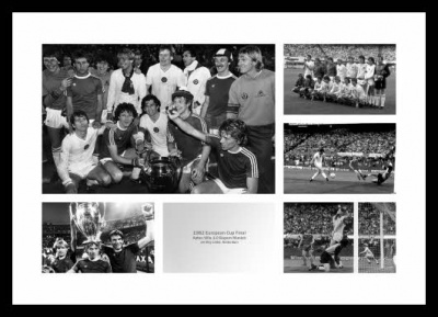 Aston Villa 1982 European Cup Final Photo Montage