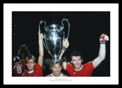 Aston Villa 1982 European Cup Team Celebrations Photo Memorabilia