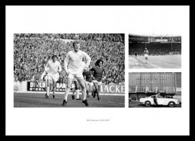 Billy Bremner Leeds United Legend Photo Memorabilia