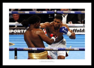 Anthony Joshua Photo - 2016 IBF World Champion Boxing Memorabilia