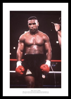 Mike Tyson Entering the Ring v Frank Bruno Photo