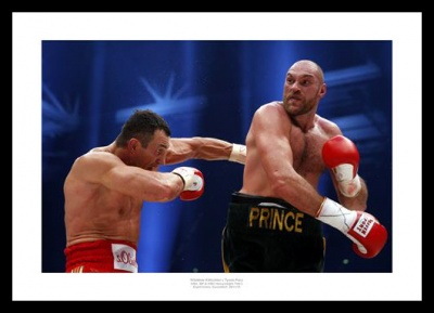Tyson Fury v Wladimir Klitschko Boxing Photo