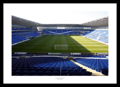 Cardiff City Stadium Photo Memorabilia