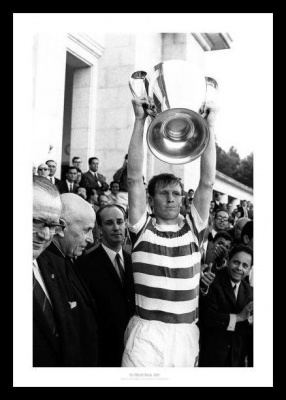 Celtic FC 1967 European Cup Final Billy McNeill Photo Memorabilia