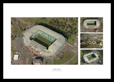 Celtic Park Aerial Views Photo Memorabilia