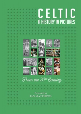 Celtic FC - A History in Pictures Personalised Book