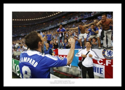 Frank Lampard Chelsea 2012 Champions League Final Photo Memorabilia
