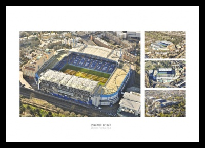 Stamford Bridge Aerial Views Photo Memorabilia