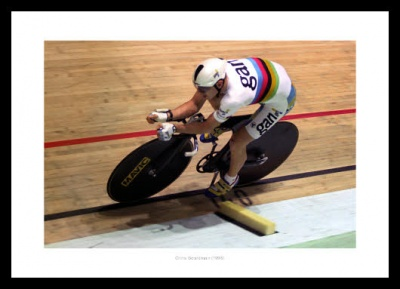 Chris Boardman 1996 Cycling Photo Memorabilia