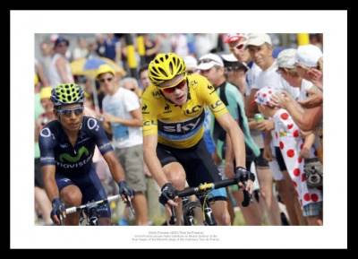 Chris Froome Mont Ventoux 2013 Tour de France Photo Memorabilia
