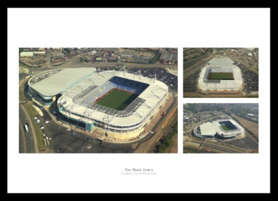 Coventry City Stadium Aerial Photo Memorabilia