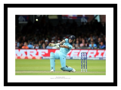 Ben Stokes England 2019 Cricket World Cup Final Photo Memorabilia