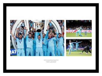 England 2019 Cricket World Cup Final Photo Montage
