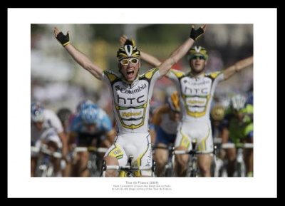 Mark Cavendish 2009 Tour de France Photo Memorabilia
