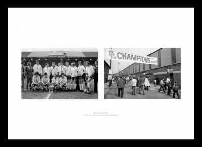 Derby County 1975 League Champions Team Photo Memorabilia