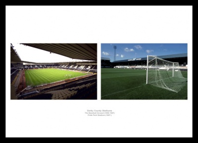 Derby County Stadiums Old and New Photo Memorabilia