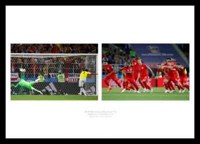 England v Columbia 2018 World Cup Penalty Shootout Photo Memorabilia