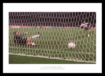 Gary Lineker 1990 World Cup Penalty Shoot Out Photo