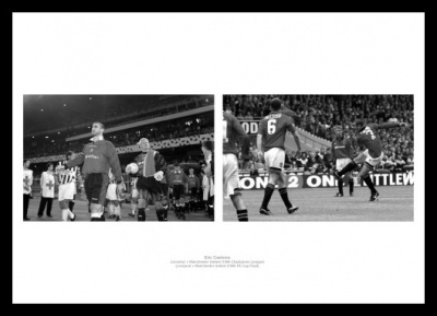 Eric Cantona Manchester United Legend Photo Memorabilia