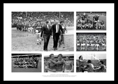 Everton FC 1980s Howard Kendall Years Photo Memorabilia