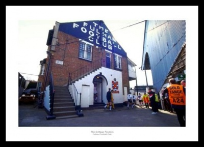 Fulham FC Craven Cottage Pavilion Photo Memorabilia