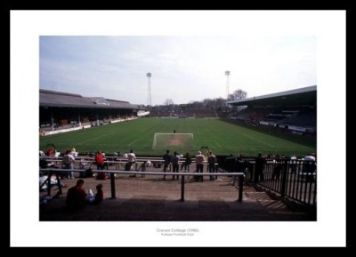Fulham FC Craven Cottage 'Match Day' 1996 Memorabilia