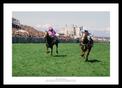 Corbiere 1983 Grand National Horse Racing Photo Memorabilia