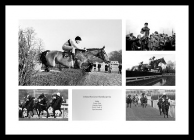 Ireland National Hunt Horse Racing Legends Photo Memorabilia