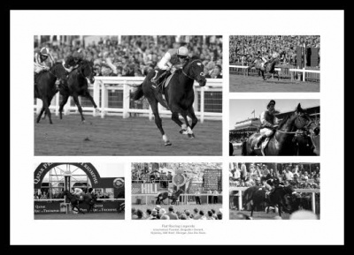 Legends of Flat Horse Racing Photo Memorabilia