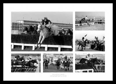 Legends of National Hunt Horse Racing Photo Montage