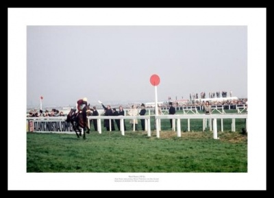 Red Rum 2nd Grand National Win 1974 Photo Memorabilia
