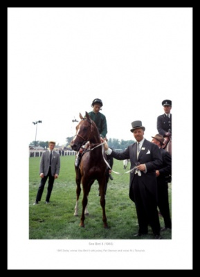 Sea Bird II 1965 Epsom Derby Photo Memorabilia