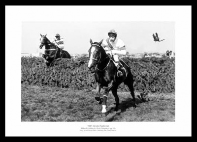 Aldaniti Wins 1981 Grand National Photo Memorabilia