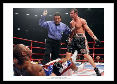 Joe Calzaghe 2006 WBO & IBF Champion Boxing Photo Memorabilia