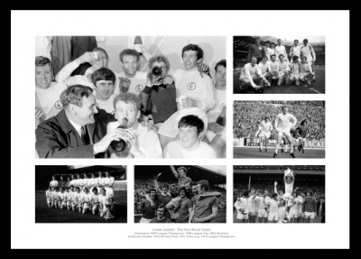 Leeds United - The Don Revie Years Photo Memorabilia