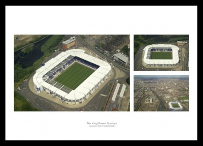 Leicester City Stadium Aerial Views Photo Memorabilia
