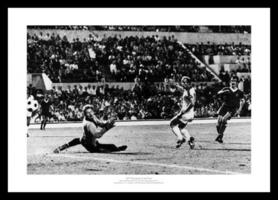 Liverpool FC 1977 European Cup Final Goal Photo Memorabilia
