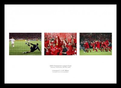 Liverpool 2005 Champions League Final Photo Memorabilia