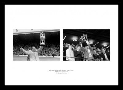 Liverpool FC Bob Paisley Final Season 1983 Photo Memorabilias