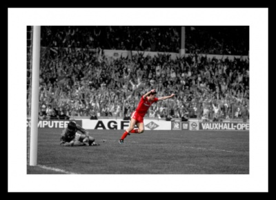 Ian Rush Liverpool FC Legend Spot Colour Photo Memorabilia